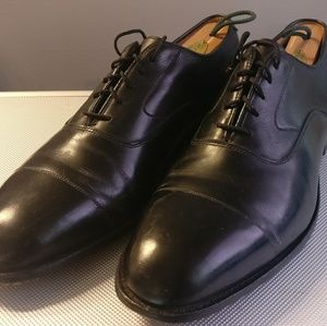 Johnston and Murphy Melton Cap Toe Oxford